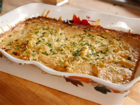 leek  potato casserole recipe ree drummond food network