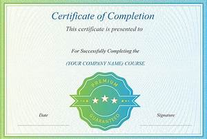 Course Completion Certificate Format Word 45 Award Certificate Templates Word Psd Ai Eps