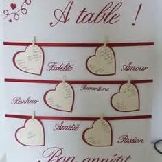 noms de table mariage créations plan de table de mariage uniques a market