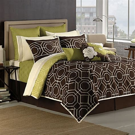 hgtv home roof garden comforter set 100 cotton bed