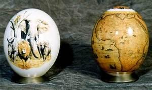 Oeuf D Autruche : peinture oeuf d 39 autruche de d coration carte d 39 afrique ~ Melissatoandfro.com Idées de Décoration