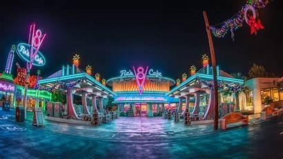 1440 Cafe Disney 4k California Adventure Night