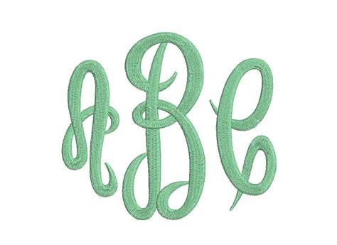 large empress 3 letters monogram font three letters monogram