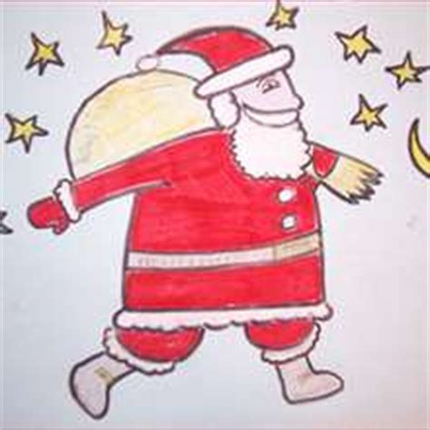 best drawi g of santa clause with chrisamas tree how to draw santa claus beard