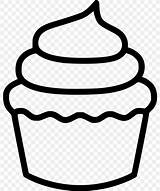 Cupcake Drawing Coloring Bakery Svg Glitter sketch template