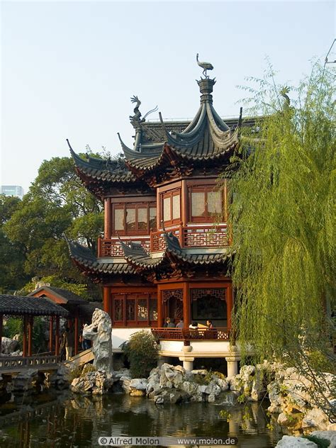 china house in photo of ancient house yu yuan gardens shanghai