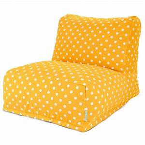 Majestic home goods ikat dot bean bag chair lounger for Home goods patio furniture cushions