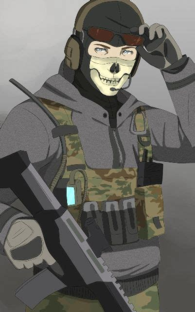 ghost warfare modern deviantart duty call character master favourites solid
