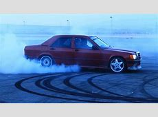 MERCEDES BENZ 190 V8 & C43 AMG DRIFT YouTube