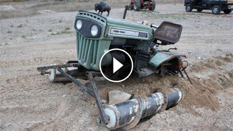 screw propelled drive tractor   screw mode
