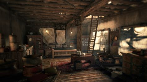 uncharted room interior polycount