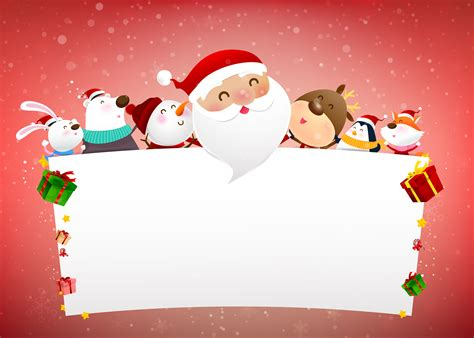 christmas snowman santa claus  animal cartoon smile
