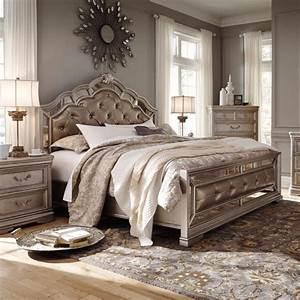 Birlanny bedroom set adams furniture for Bedroom furniture sets b q