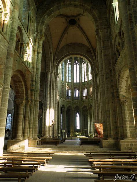 mont michel interieur coins du monde normandie l abbaye du mont michel