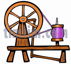 Free drawing of A Spinning Wheel from the category Hobby