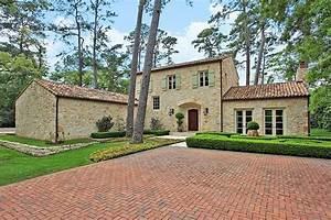 Stylish faux French farmhouse in Houston