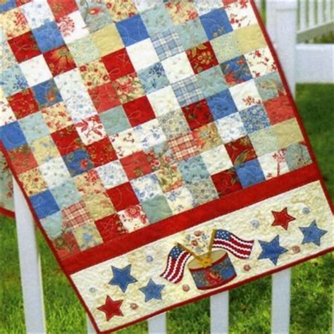shabby fabrics home page american glory table runner pattern by shabby fabrics