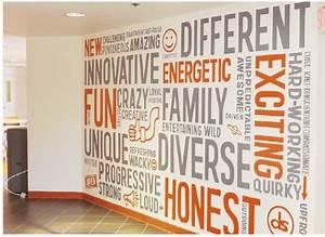 best 25 office wall art ideas on pinterest office wall With wall word art