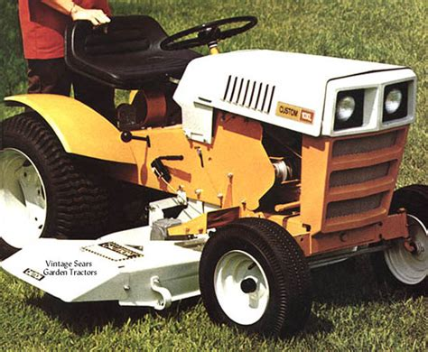 vintage sears garden tractors info for my sears i got sears craftsman tractor forum