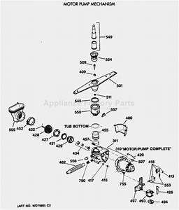 Ge Dishwasher Parts Diagram