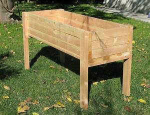 Living, Green, Planters, Portable, Elevated, Planter, Box