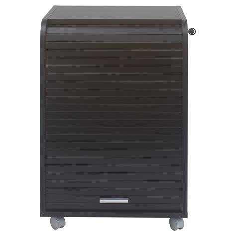 bureau 70 cm caisson de bureau noir orga 70 lestendances fr