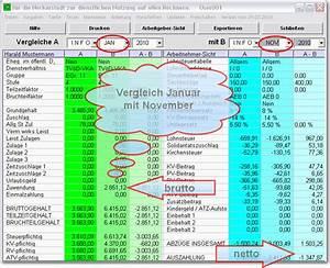 Tagesgehalt Berechnen : gehaltsrechner bei freeware ~ Themetempest.com Abrechnung