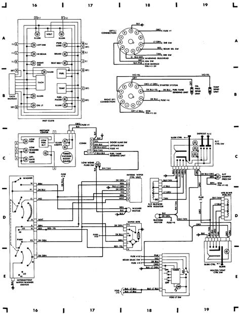 Dodge Ramcharger Fuse Box Auto Wiring Diagram