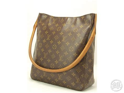 authentic louis vuitton monogram looping gm large shoulder