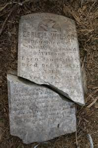 grave from holland island chesapeake bay md grave is