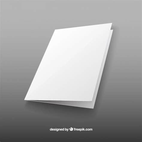 Plain Brochure Template by Blank Brochure Vector Free