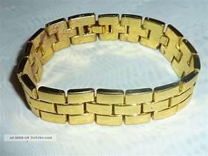 50er Jahre Accessoires : vintage 50er 60er jahre armband vergoldet 18kt ~ Sanjose-hotels-ca.com Haus und Dekorationen
