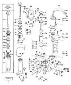 Evinrude 1987 150  Tilt Hydraulic