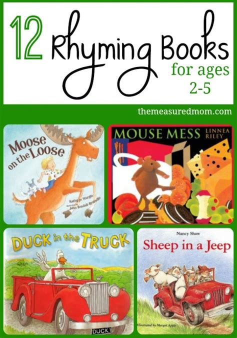 rhyming books for toddlers amp preschoolers the measured 773 | rhyming books for toddlers and preschoolers 590x842