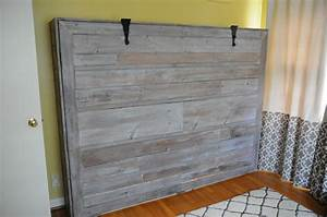 Rustic Queen Sized Wall Bed Do It Yourself Home Projects