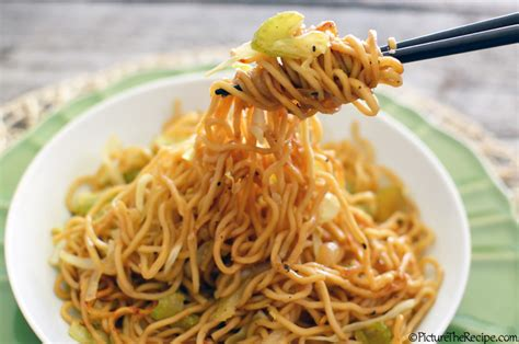 chow mein noodles chow mein noodles by picturetherecipe picture the recipe