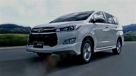 toyota innova crysta  model redesign  concept