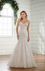 classic fit and flare wedding dress essense of australia With fit and flare dress wedding dress
