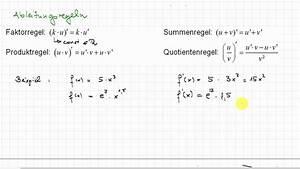 Differenzial Rechnung : differentialrechnung faktor und summenregel youtube ~ Themetempest.com Abrechnung