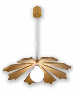 Luminaire En Bois : luminaire en bois suspension ~ Teatrodelosmanantiales.com Idées de Décoration