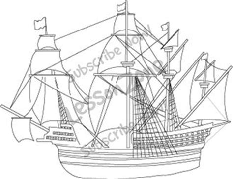 How To Draw A Tudor Boat by Sailing Boat Clipart Tudor Pencil And In Color Sailing