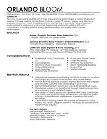 dj resume template professional dj resume templates to showcase your talent myperfectresume