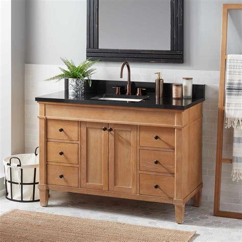 wooden kitchen sink solid wood bathroom vanity signature hardware 1173