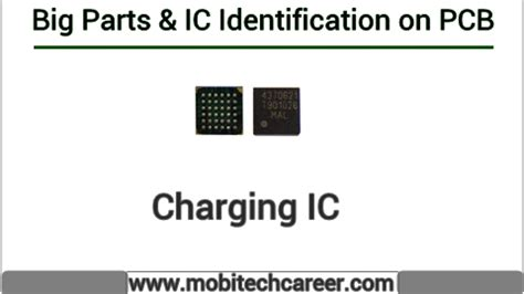 charging ic identify  mobile phone pcb circuit board