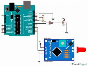 Interfacing Flame Sensor With Arduino To Build A Fire