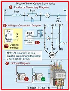 Electrical And Electronics Engineering  Types Of Motor Control Schematics   In 2020
