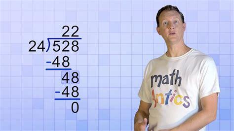 math antics long division   digit divisors youtube