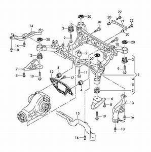 2001 Audi A4 Quattro Rear Suspension Parts Diagram  Audi  Auto Wiring Diagram