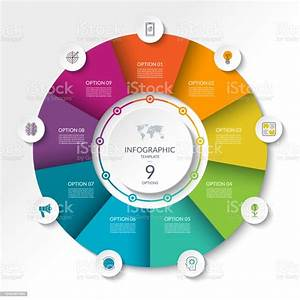 Circular Infographic Flow Chart Process Diagram Circle Or