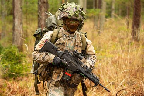 Noslēdzas Štāba bataljona dalība militāro mācību ciklā ...